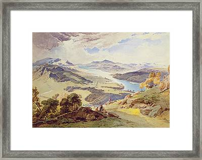 Windermere From Ormot Head Framed Print by William Turner