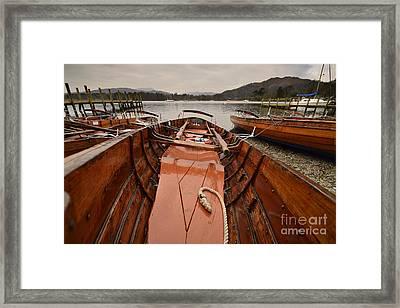 Windermere Framed Print by Nichola Denny