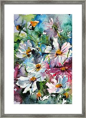 Windflowers II Framed Print by Kovacs Anna Brigitta