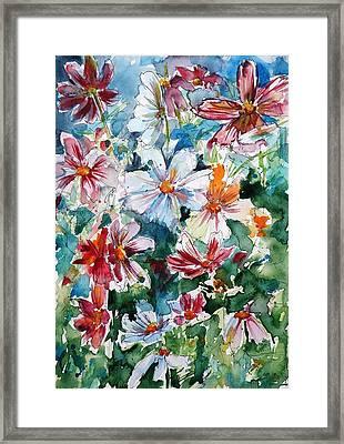 Windflowers IIi Framed Print by Kovacs Anna Brigitta