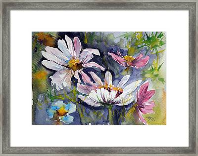 Windflowers Framed Print by Kovacs Anna Brigitta