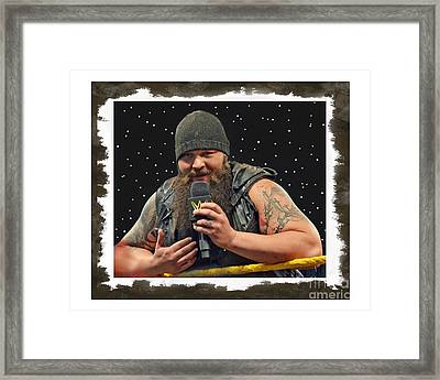 Windham Lawrence Rotunda Pro Wrestling Character Bray Wyatt Framed Print