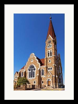 Christendom Framed Prints