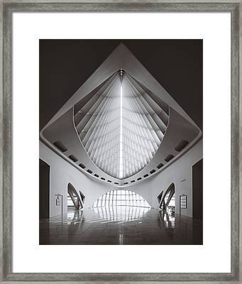 Windhover Hall Framed Print