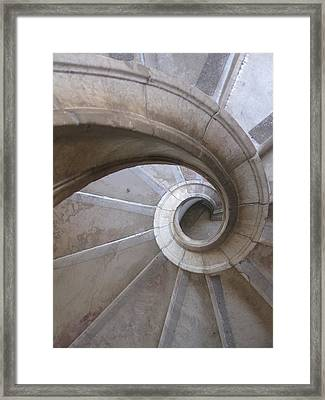 Framed Print featuring the photograph Winding Down by Menega Sabidussi