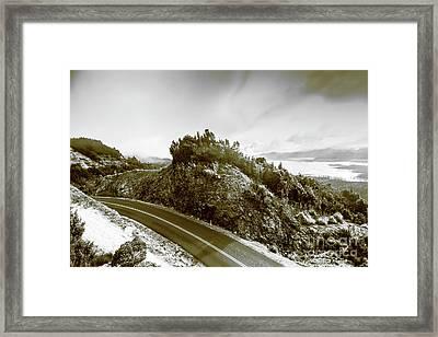 Winding Gordon River Road Framed Print