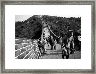 Winding Path Framed Print