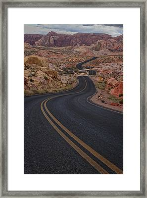 Winding Road Framed Print by Rick Berk