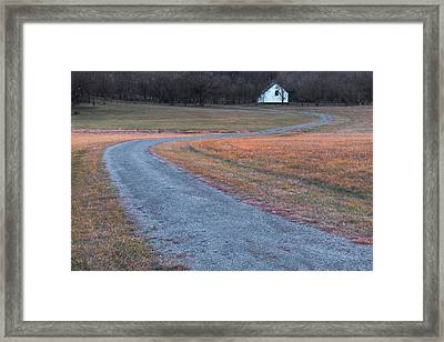 Winding Road Framed Print