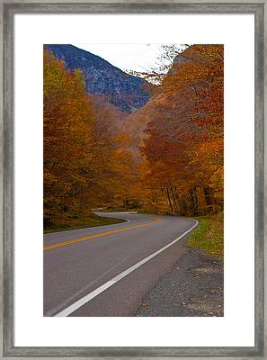 Winding Road Framed Print by Robert  Torkomian