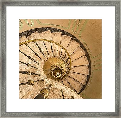 Winding Stairs Framed Print by Greg Thiemeyer