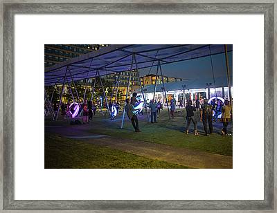 Winding Up For A Big Swing Lawn On D Boston Ma D Street Framed Print by Toby McGuire