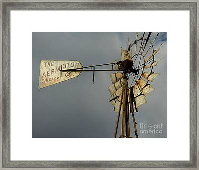 Windmill 1 Framed Print