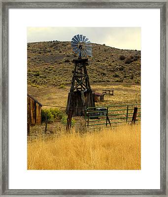 Windmill 1 Framed Print by Marty Koch