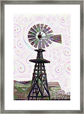 Windmill 1 Framed Print