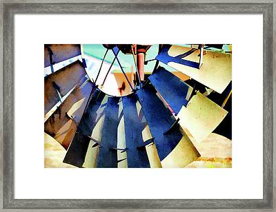 Windmill 2 Framed Print