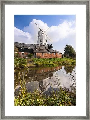 Windmill At Rye Framed Print by John Boud