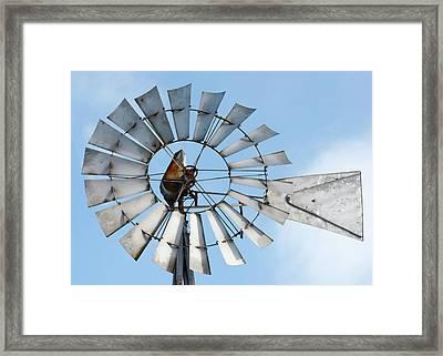 Windmill Blades Framed Print by Todd Klassy