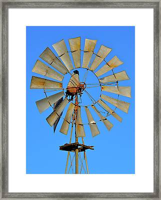 Windmill Framed Print