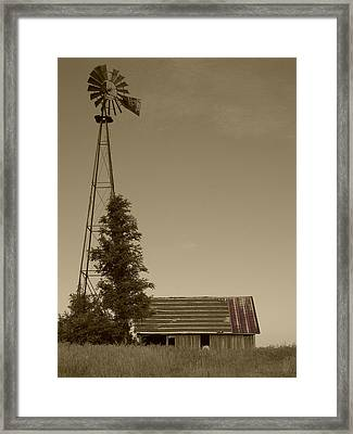 Windmill II Framed Print
