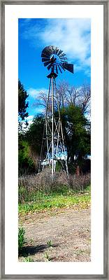 Windmill Panorama Framed Print by Bransen Devey