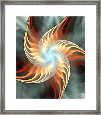 Windmill Toy Framed Print by Anastasiya Malakhova