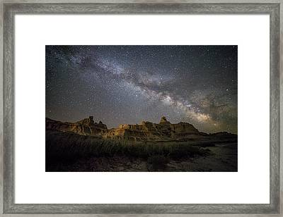 Window Framed Print by Aaron J Groen