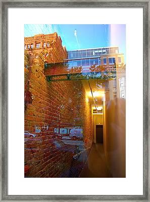 Window Art Lll Framed Print by Mark Lemon