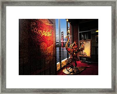 Window Art Framed Print