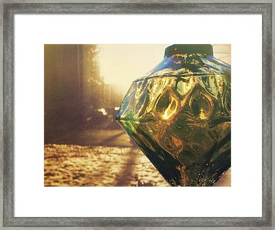 Window Dressing Framed Print by JAMART Photography