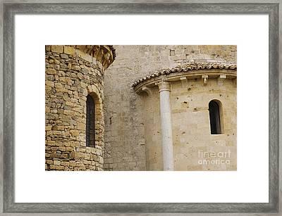 Window Due - Italy Framed Print