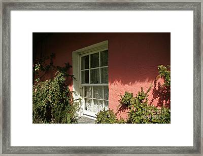 Framed Print featuring the photograph Window In Ireland by Christine Amstutz