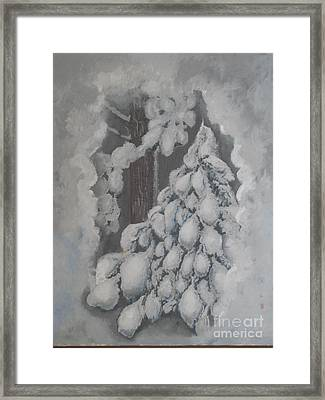 Window In The Storm Framed Print