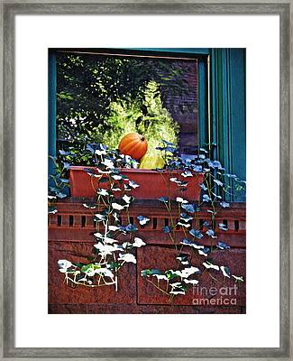 Window Ledge Still Life  Framed Print