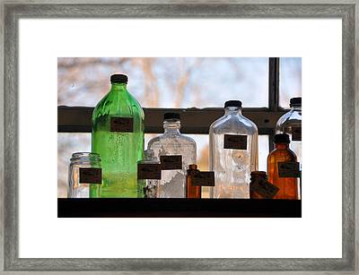 Window Light Framed Print by Jan Amiss Photography