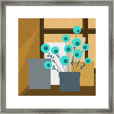 Window Light Framed Print by Val Arie