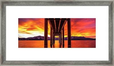 Framed Print featuring the photograph Window Of Perfection by Brad Scott