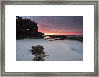 Window On Dawn Framed Print by Mike  Dawson