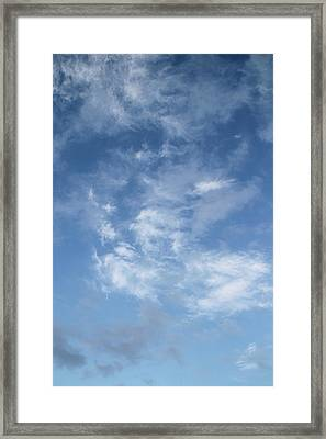 Framed Print featuring the photograph Window On The Sky In Israel During The Winter by Yoel Koskas