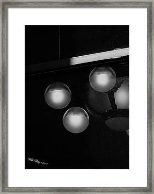 Window Peeking Framed Print by Wild Thing