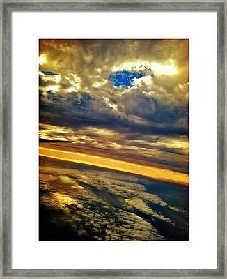 Window Seat 5 Framed Print by Braden Moran