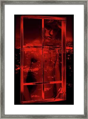 Window Shade 2/10 Framed Print
