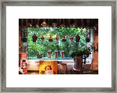 Framed Print featuring the photograph Window Shopping by Joanne Coyle