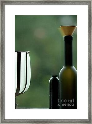 Window Sill Decoration Framed Print by Heiko Koehrer-Wagner