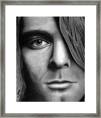 Window To A Troubled Soul Framed Print