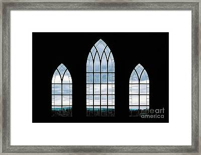Framed Print featuring the photograph Window To God's Country by Brad Allen Fine Art