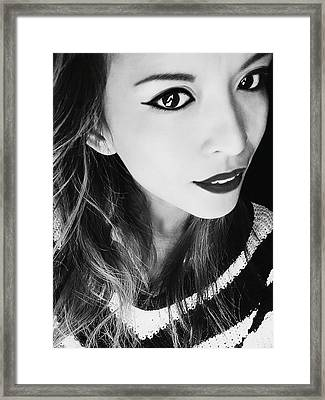 Window To Soul Framed Print