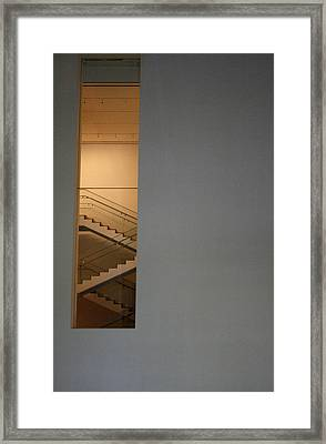 Window To Stairs Framed Print by Jeff Porter
