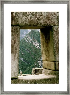 Window To The Gifts Of The Pachamama Framed Print