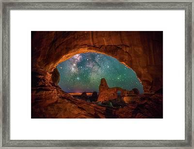 Window To The Heavens Framed Print